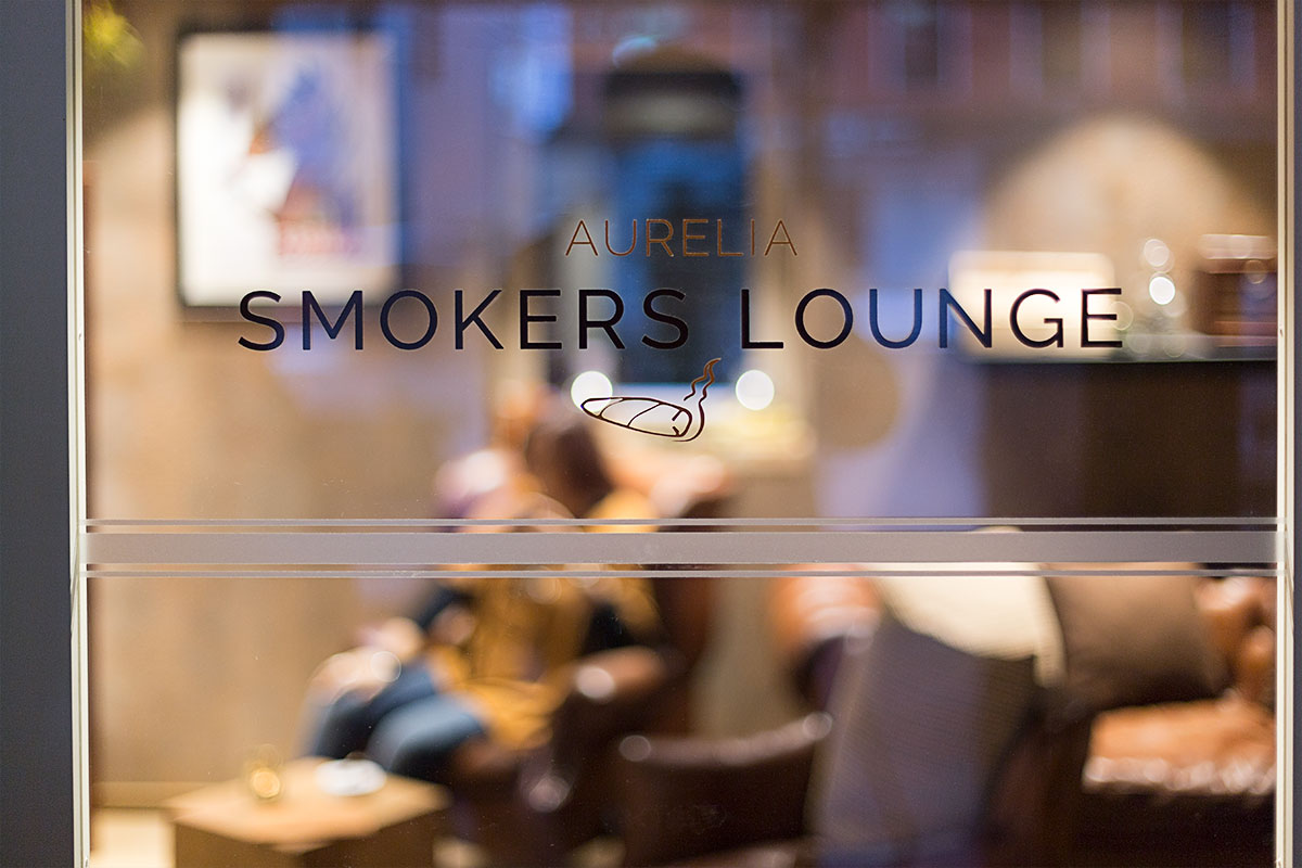 Smokers Lounge | Hotel Aurelia Aldingen